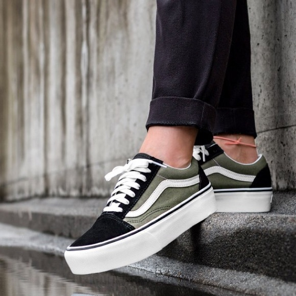 platform vans old skool